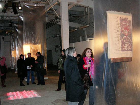 Открытие выставки «Восьмой проект» вЦТИФабрика. Москва, 2008