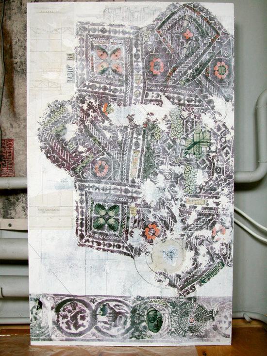 """Lenin"", panel / The Eighth Project. ©Katya-Anna Taguti"
