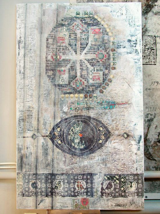 """Lilya Brik"", panel / The Eighth Project. ©Katya-Anna Taguti"