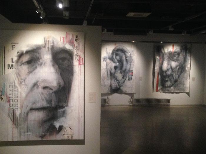 """A Large Portrait"" in Erarta Museum, Saint-Petersburg"